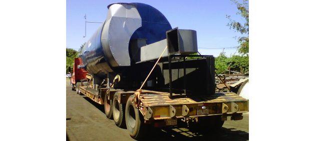 Plancha Transportadora para cargas especiales
